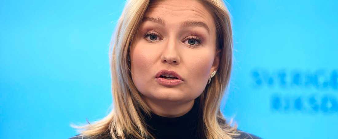 Ebba Busch, partiledare för KD.