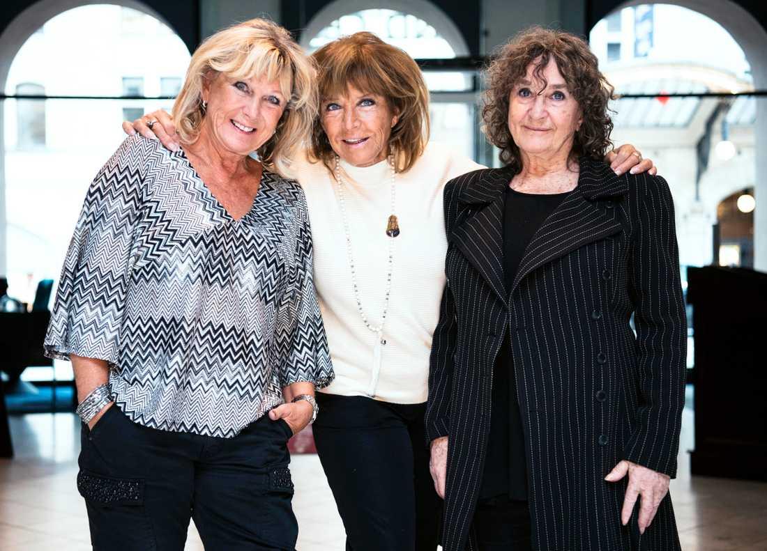 Ann-Louise Hanson, Lill-Babs och Siw Malmkvist.