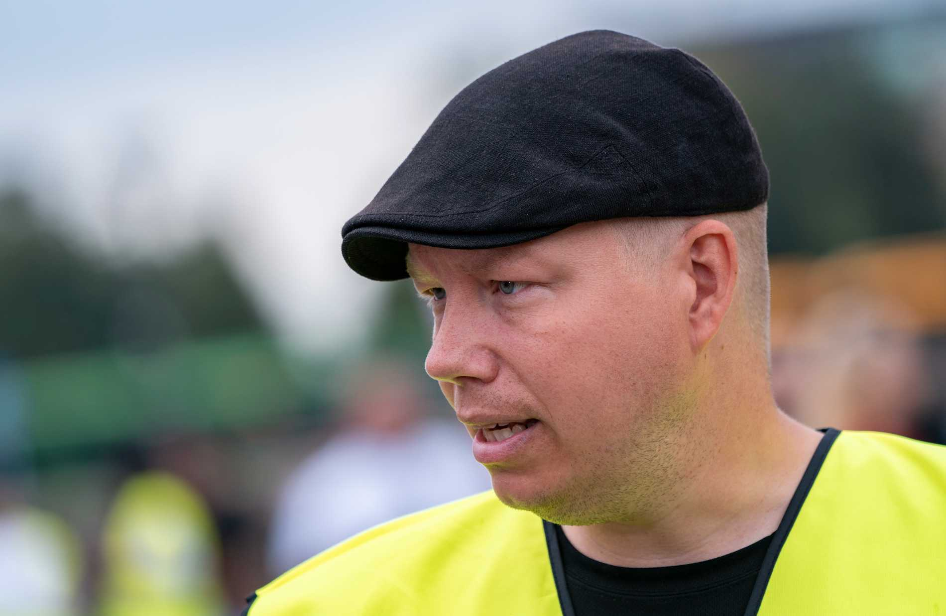 Ola Brunnström è il principale rappresentante per la sicurezza.