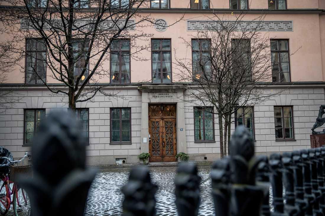 Judiska församlingen i Stockholm.