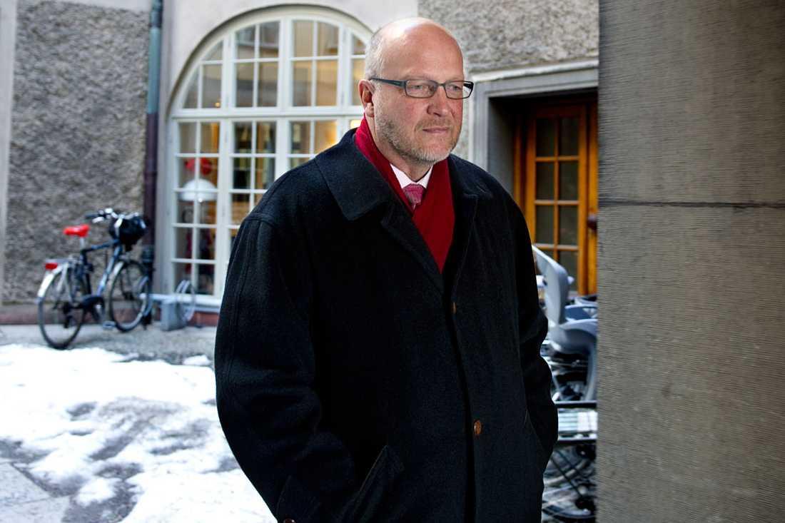 Sven-Erik Österberg petas som gruppledare för Socialdemokraterna i riksdagen.