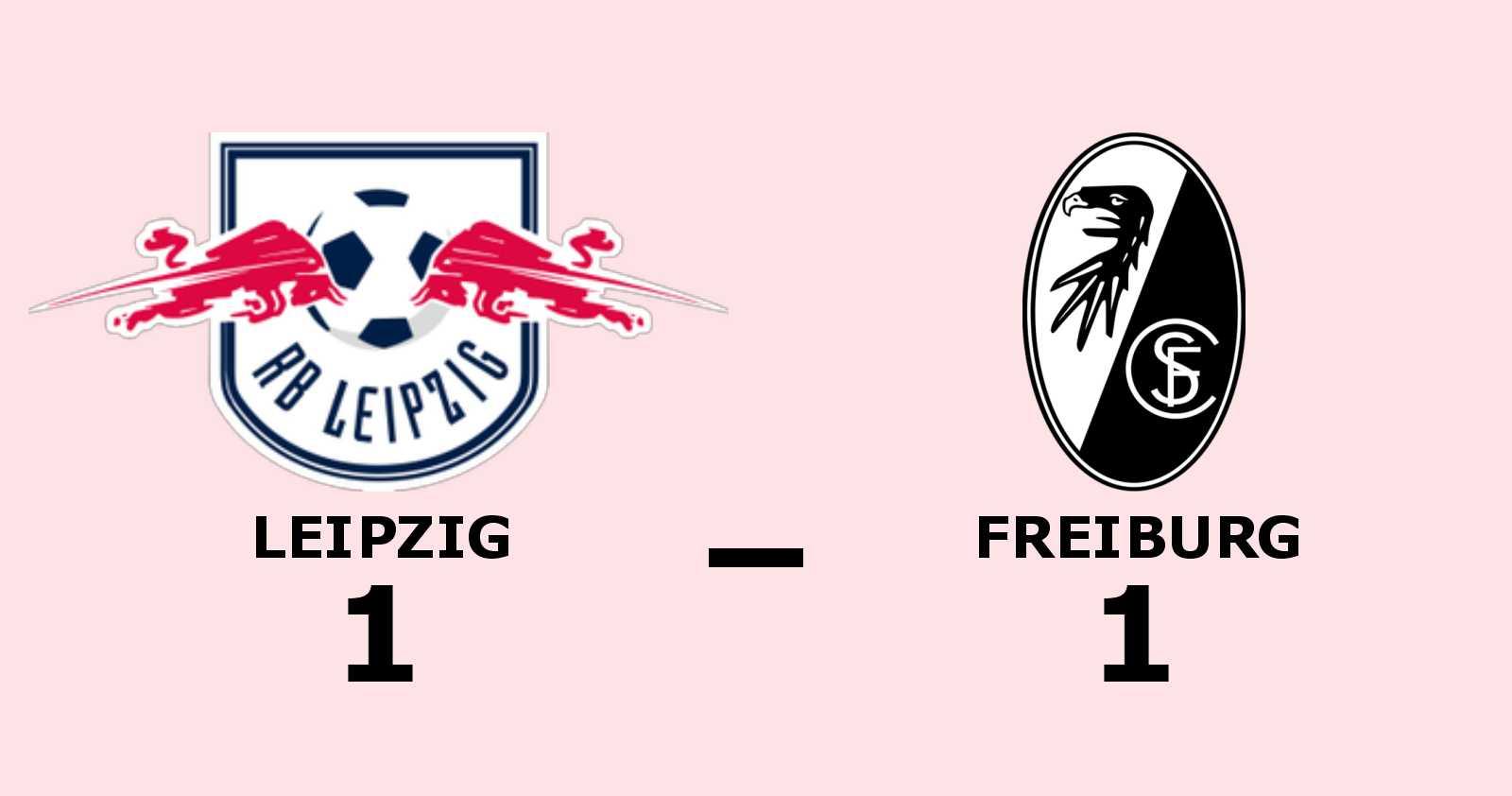 Yussuf Poulsen poängräddare för Leipzig mot Freiburg