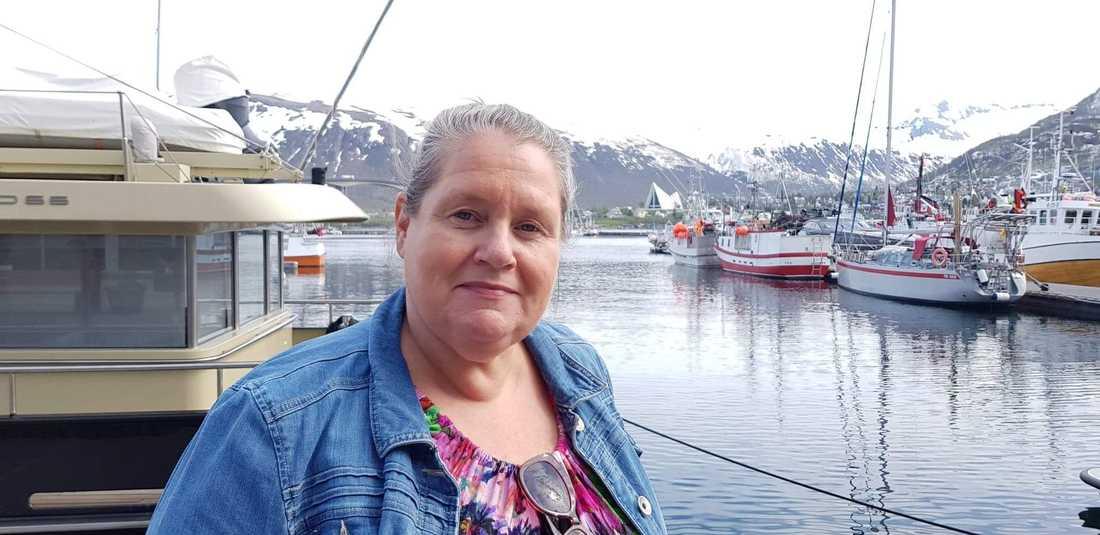 Svenska sjuksköterskan Leena Vuorinen är högsta ansvarig för norska Tromsös fem äldreboenden.