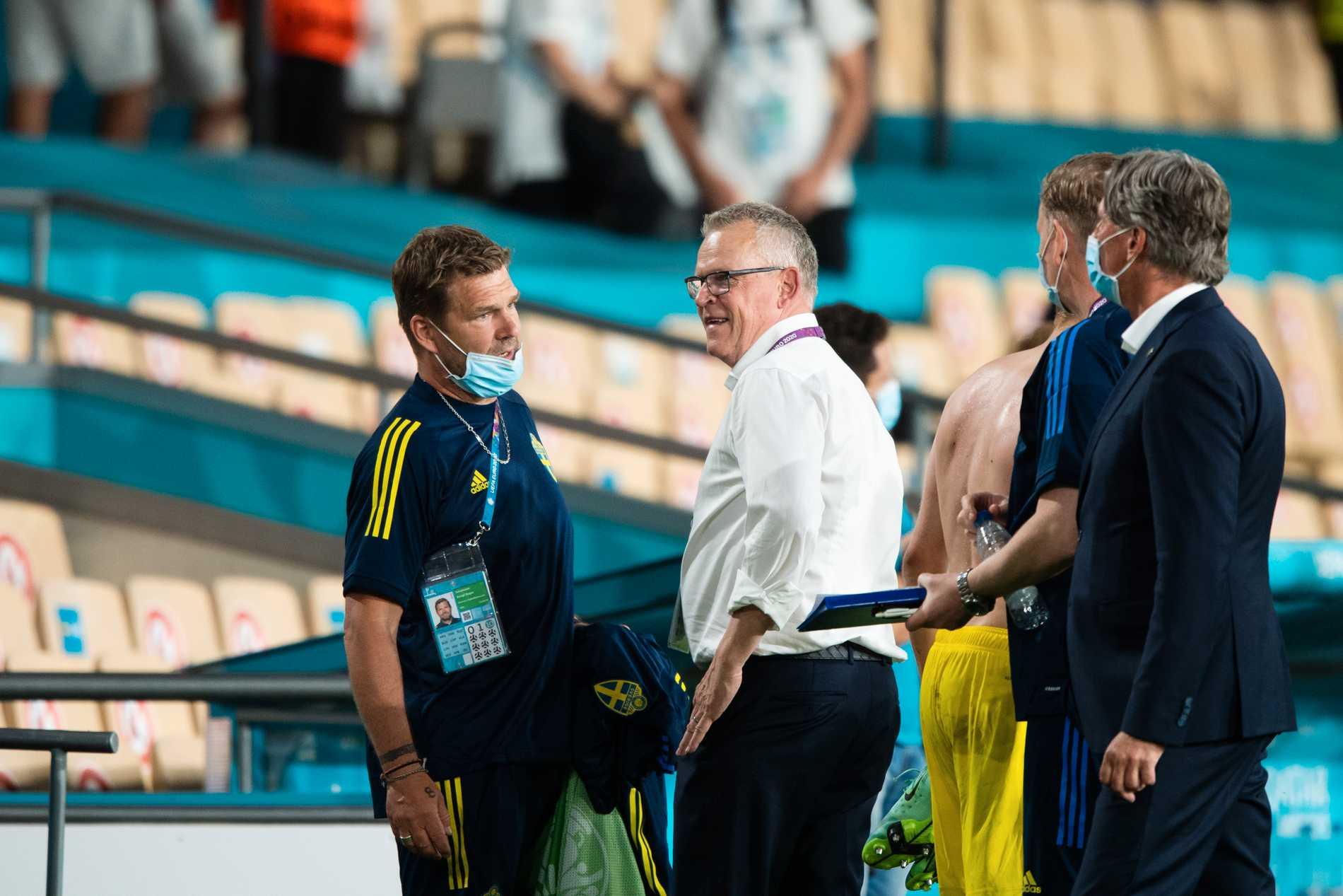 Janne Andersson var nöjd efter 0–0 mot Spanien.