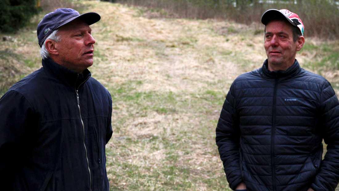 Lennart Wennberg och Mikael Eklo.
