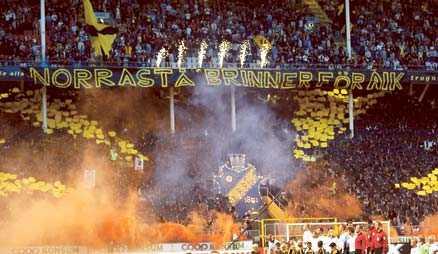 inte längre AIK:s tifogrupp tänker inte genomföra något tifo mot Hammarby.
