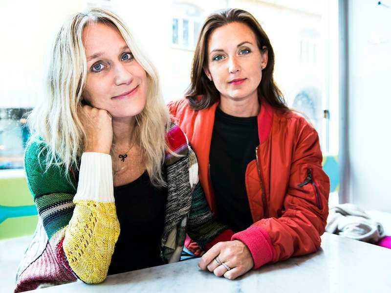 """Ann Söderlund och Sanna Lundell leder """"Djävulsdansen"""" i SVT1."""