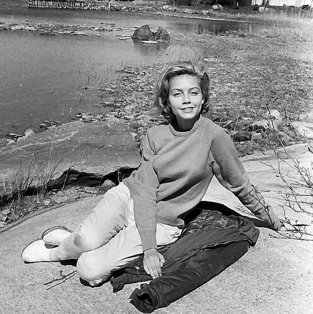 Louise Edlind Friberg spelade Malin på Saltkråkan under fem somrar och blev en stilikon för många.