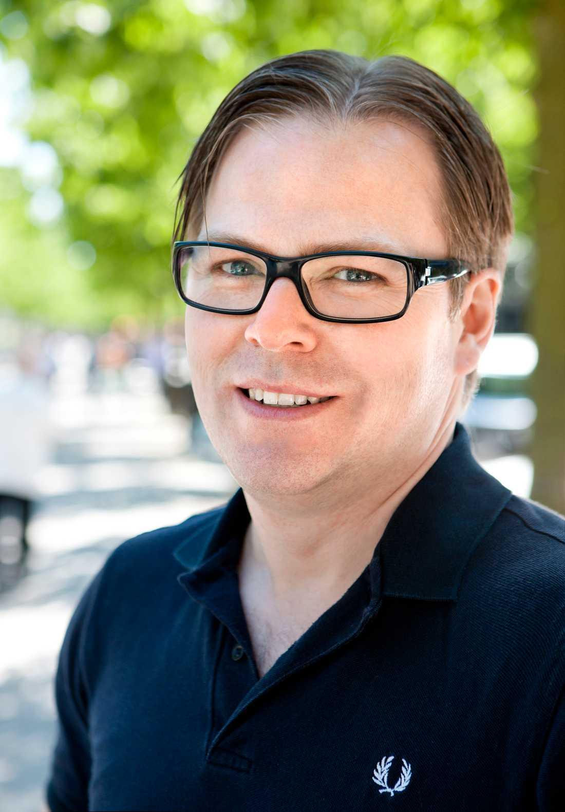 Mikael Högg, pressansvarig på Motormännens Riksförbund.