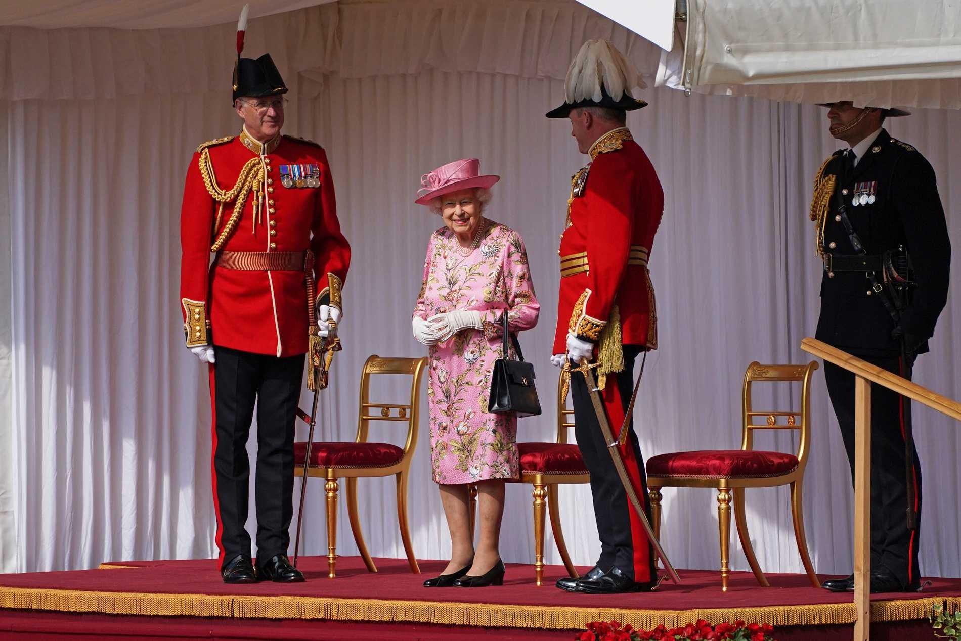 Makarna Biden är det femte presidentparet den brittiska drottningen tar emot.