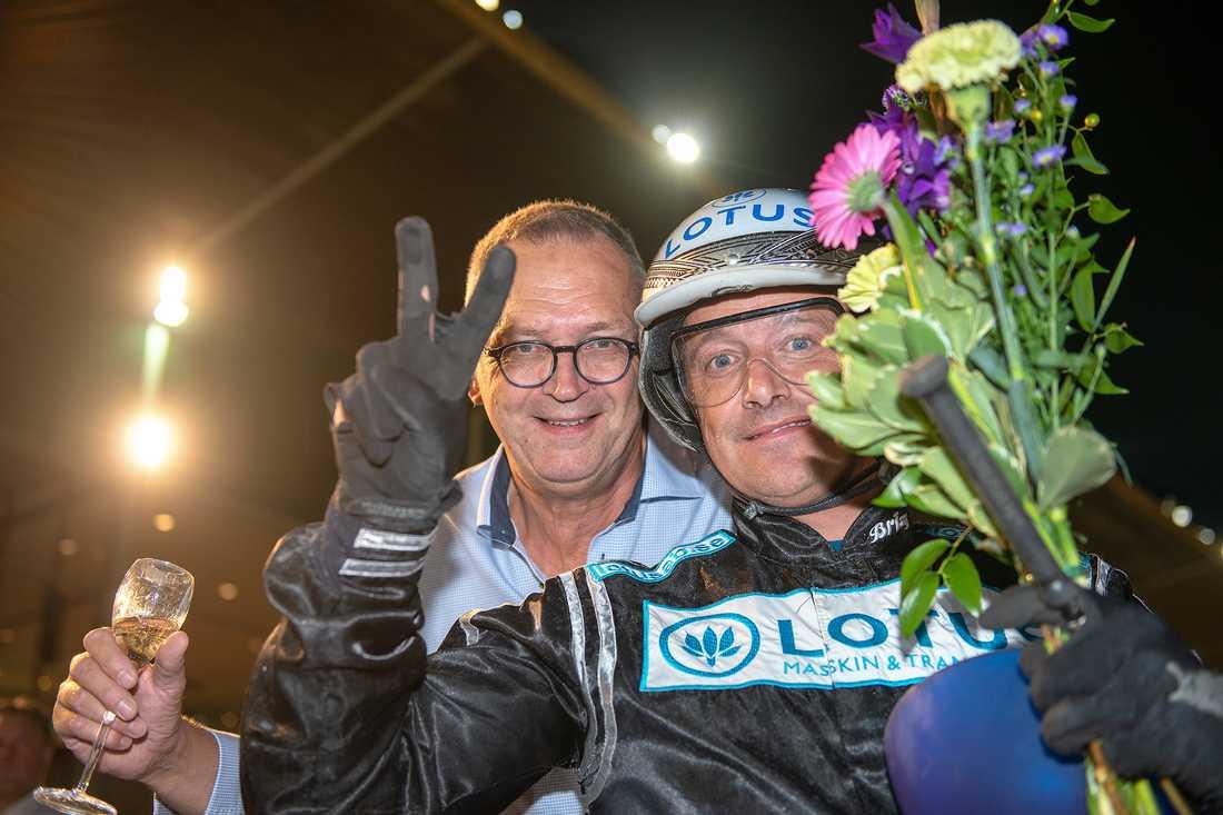 Robert Bergh hade en bra onsdagskväll på Jägersro, och kvalade in två hästar till Svenskt Travderby