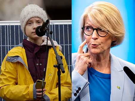 Greta Thunberg donerar 100 000 dollar till det globala vaccinprogrammet Covax, medan Elisabeth Svantesson (M) vill sänka biståndet med 16 miljarder bara under 2021.