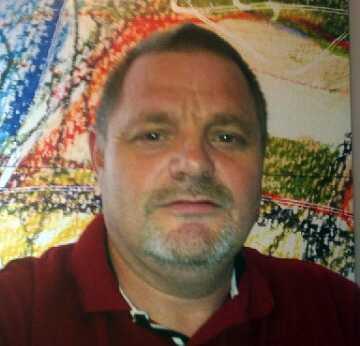 Tony Hagström, 49, hamnade mitt i kaoset.