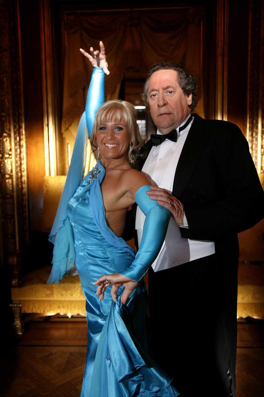 """2007 Tillsammans med danspartnern Ann Lähdet i """"Let's dance"""""""