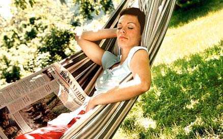 Ägna tid åt dig själv Ta en paus och tänk på något helt annat än livets alla måsten.