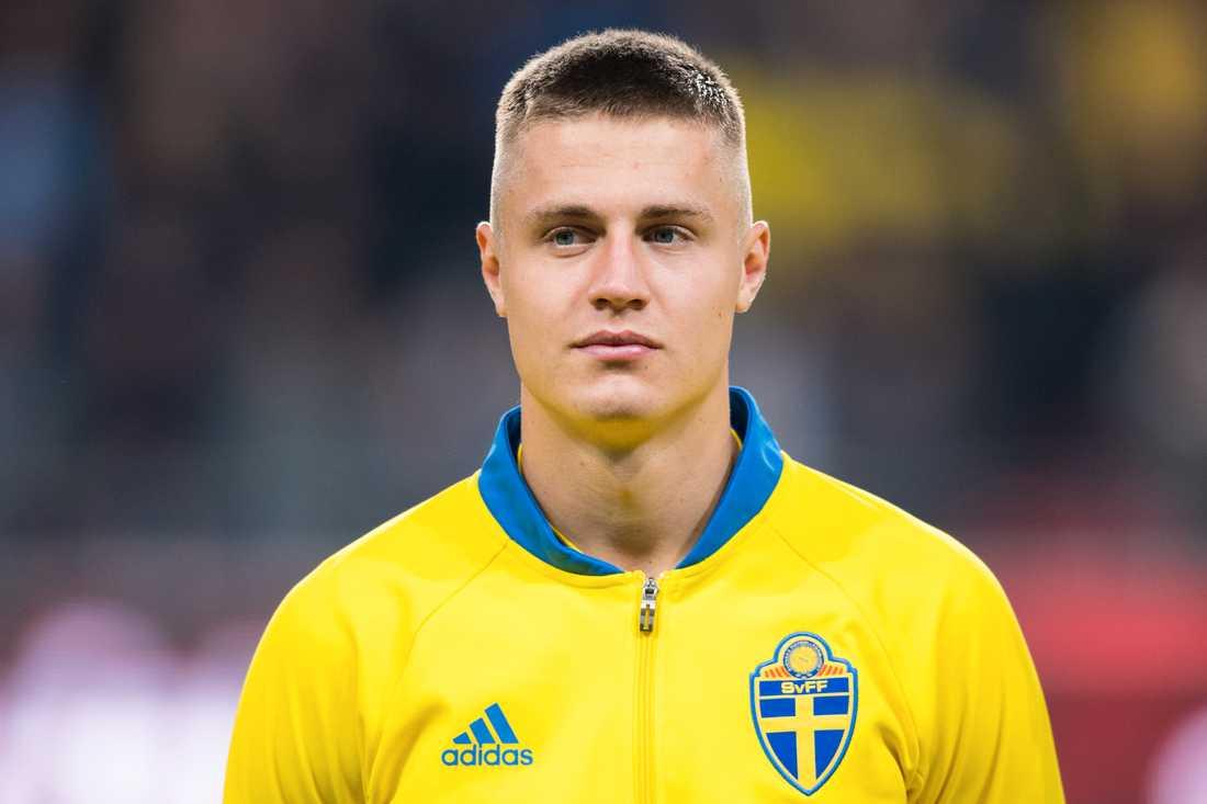 Mattias Svanberg är nyckelspelare i det svenska U21-landslaget.