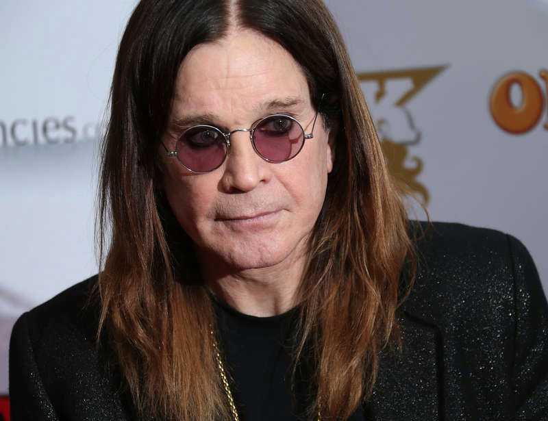 Frontfiguren Ozzy Osbourne.
