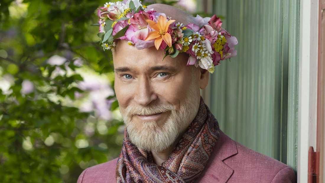 Modeskaparen Lars Wallin, 54.