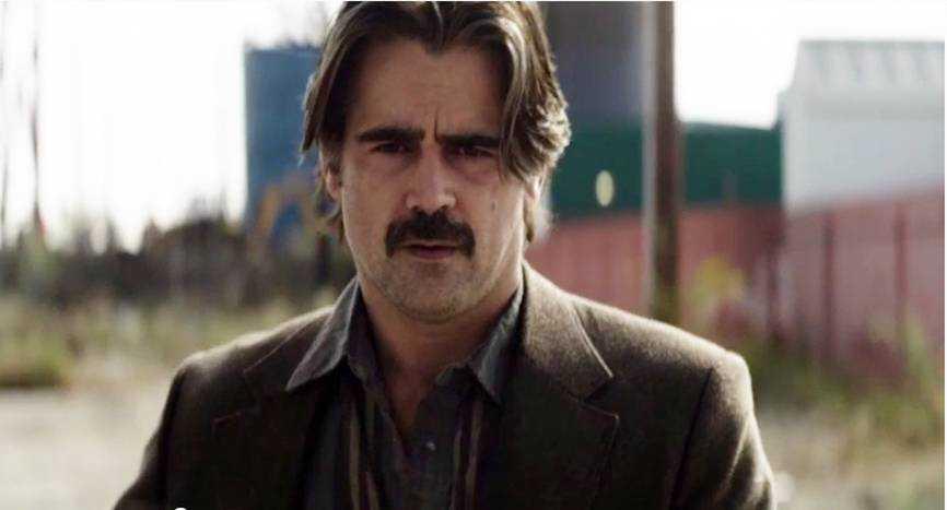 "Colin Farrell i trailern till nya ""True detective""."