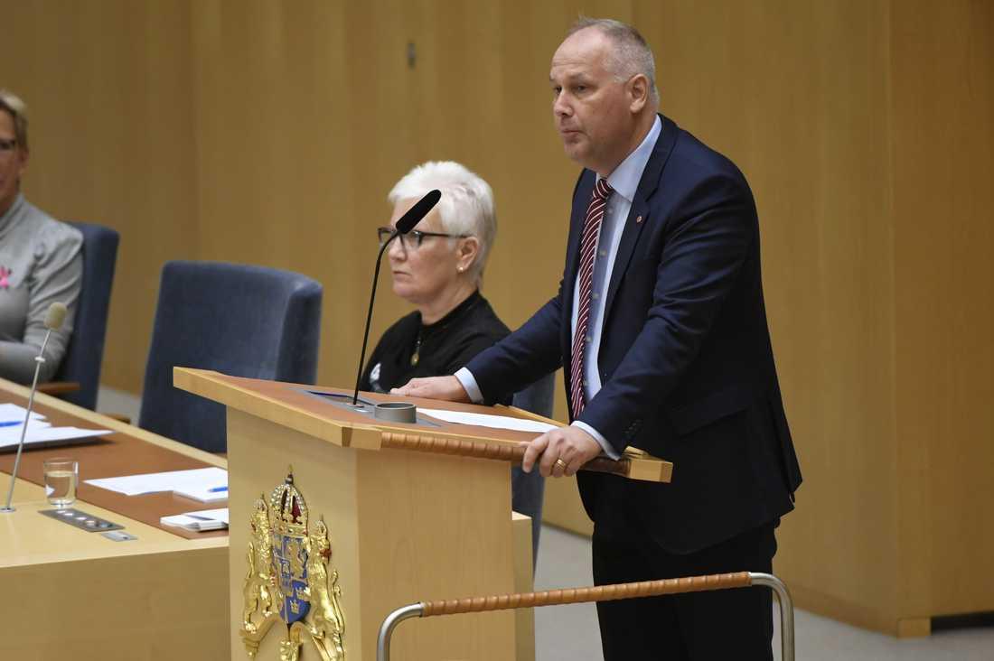 Jonas Sjöstedt, Vänsterpartiet.