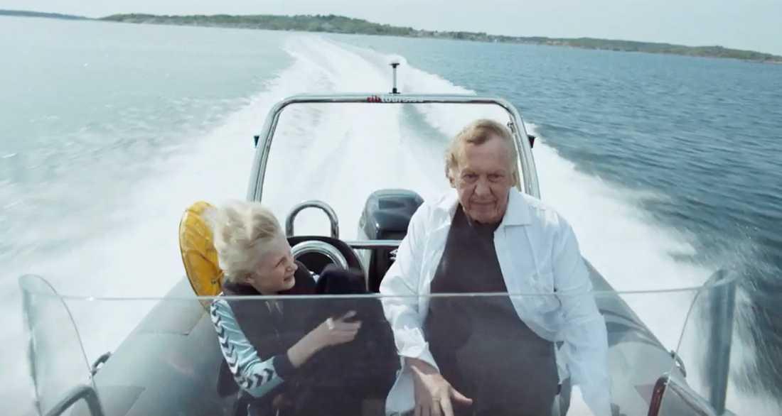 """Elis Gerdt och Tomas von Brömssen i """"Sune – best man""""."""