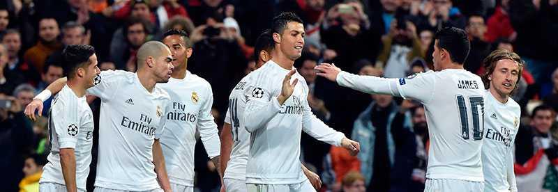 Real Madrid är enkelt vidare till kvartsfinal i Champions League.