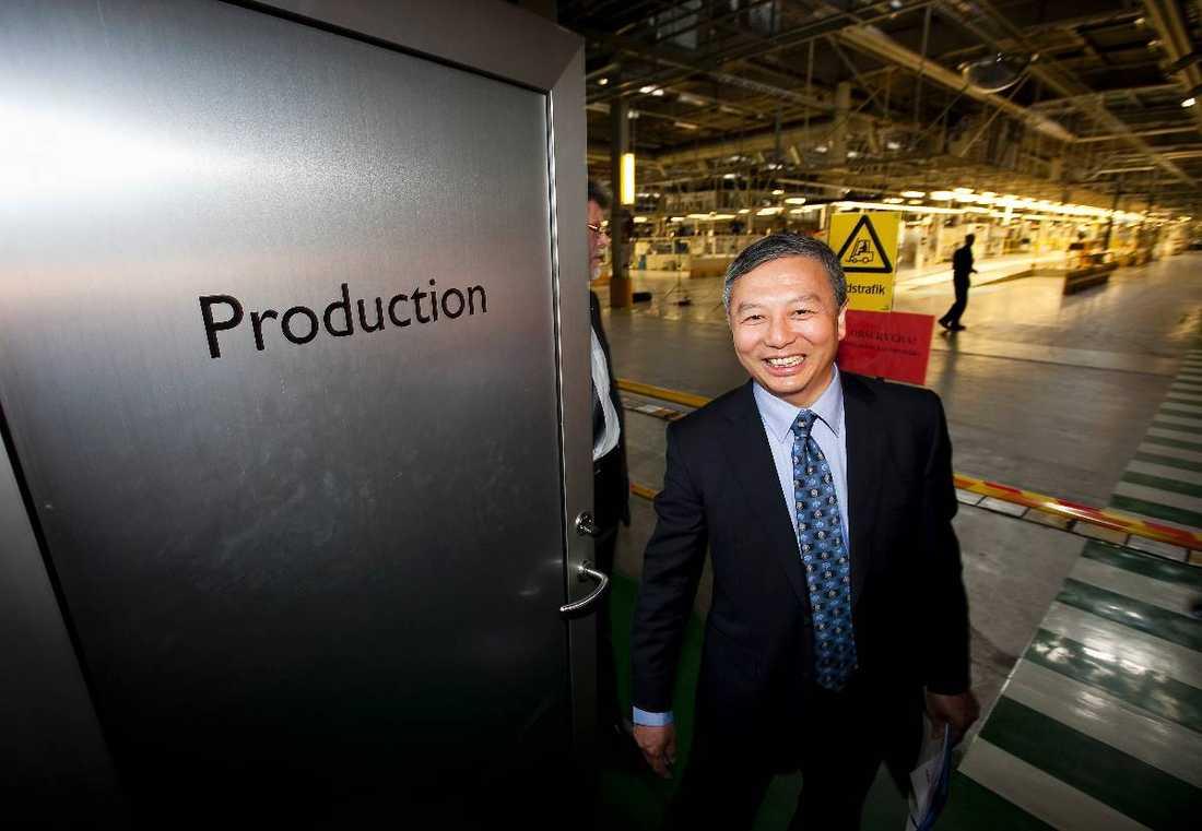 Nye bossen Kai Johan Jiang, mannen bakom Nevs, ska göra Saab till världsledande på elbilar.