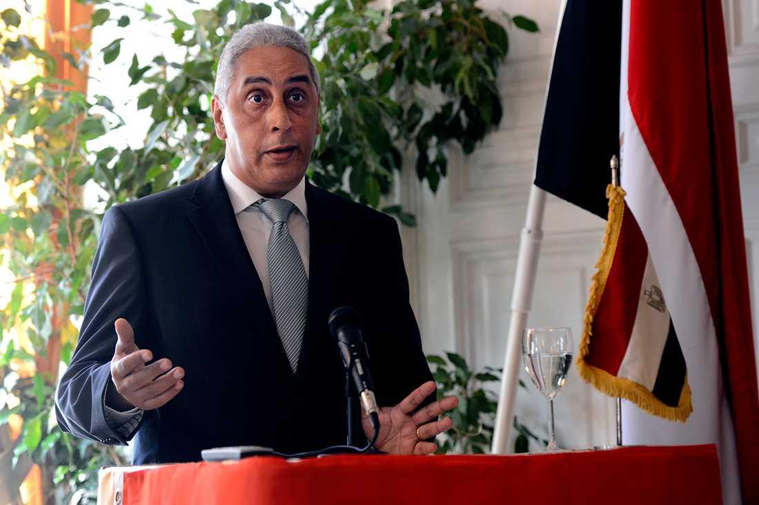Egypten ambassadör Osama Elmagdoub.
