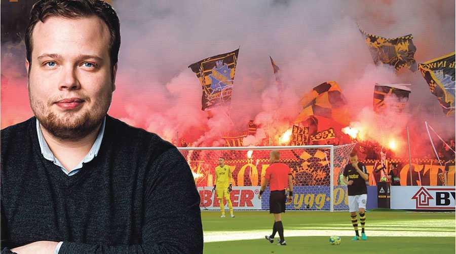 DEBATT: Tillåt pyroteknik på våra fotbollsarenor