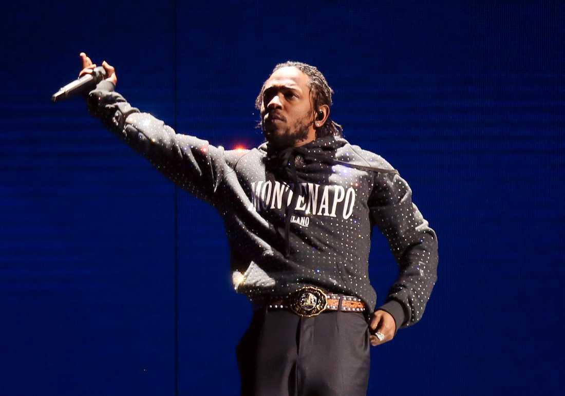 Kendrick Lamar kommer till Roskilde i sommar. Arkivbild.