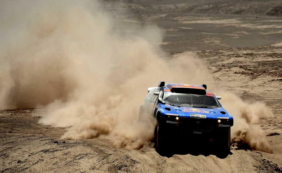 900 mil kamp Dakarrallyt inleds på nyårsdagen, och en av de 742 startande är Nasser Al Attiyah – den regerande mästaren.