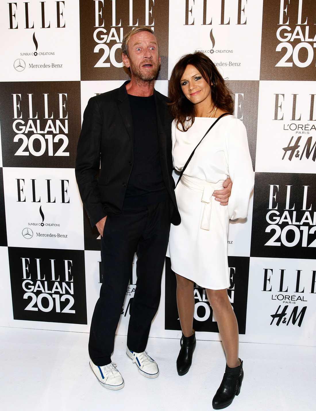 Per Holknekt och Lena Philipsson skilde sig 2012.