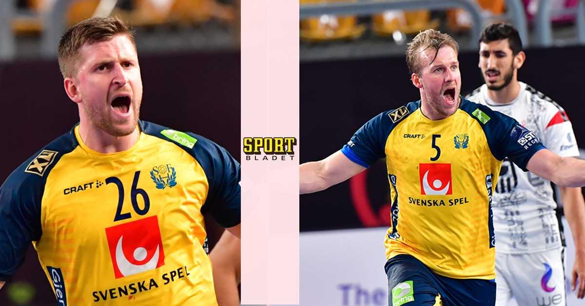 Sverige vann rysaren mot Egypten i handbolls-VM