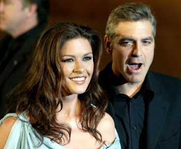 George Clooney spelar mot Catherine Zeta-Jones i nya filmen.