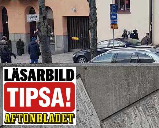 Polisen slår till mot misstänkta vid Fridhemsplan