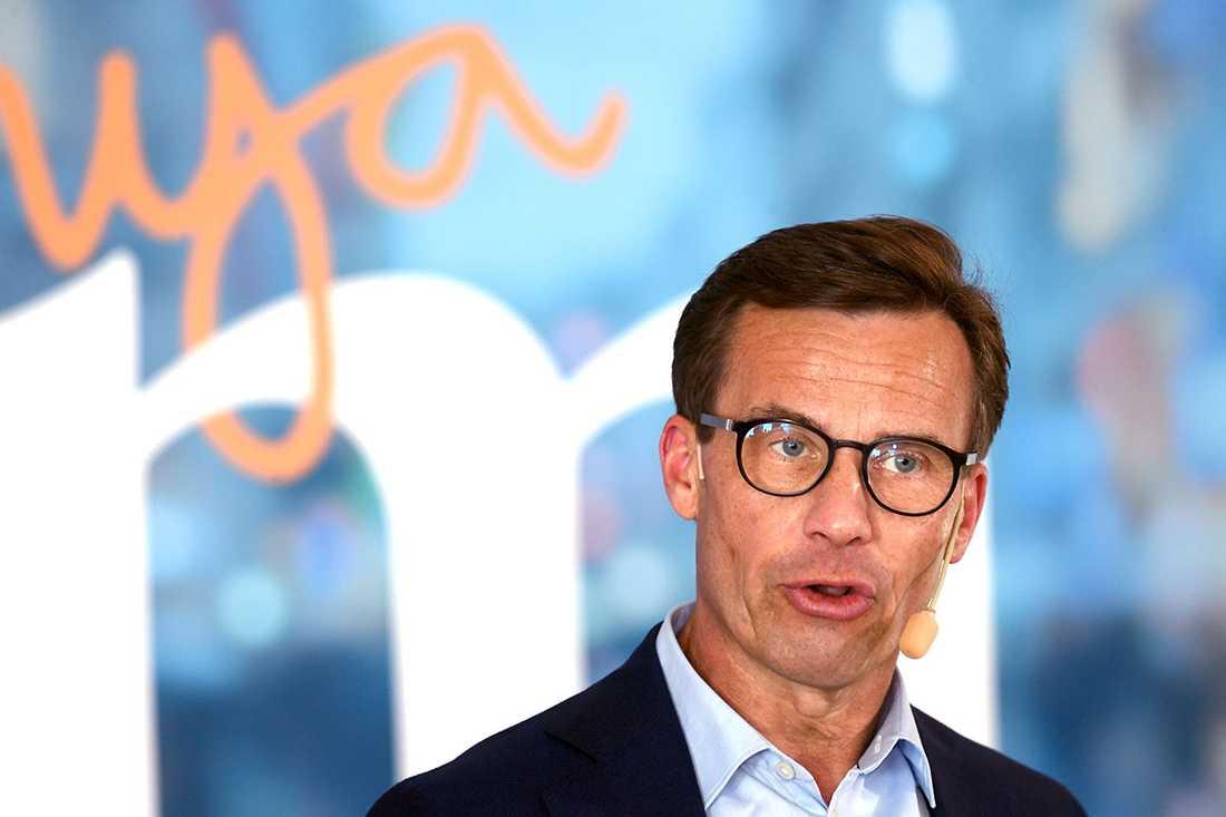 Ulf Kristersson, partiledare för Moderaterna.