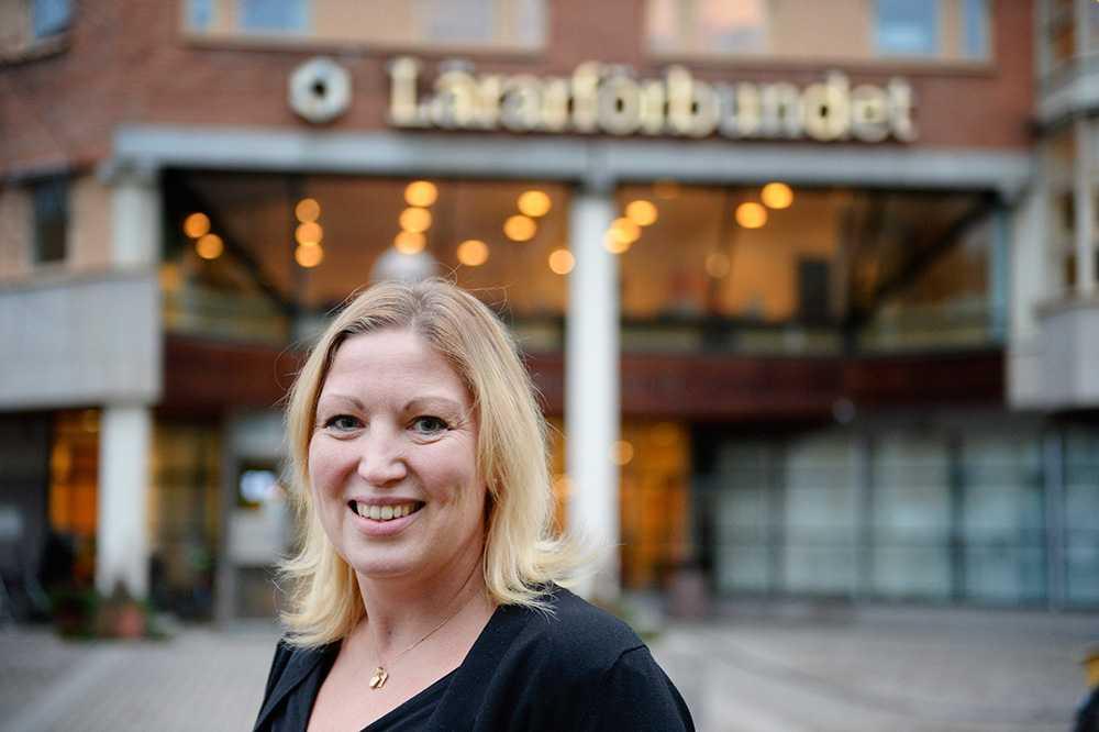 Johanna Jaara Åstrand, ordförande för Lärarförbundet.