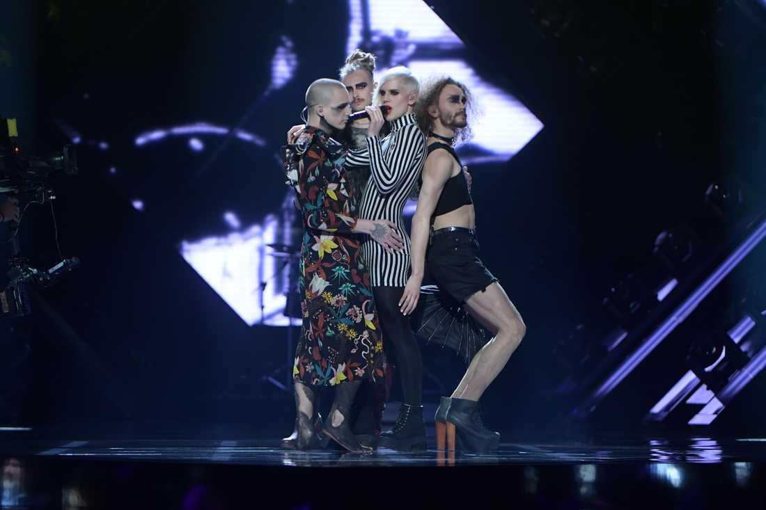 Dismissed i Melodifestivalen 2017