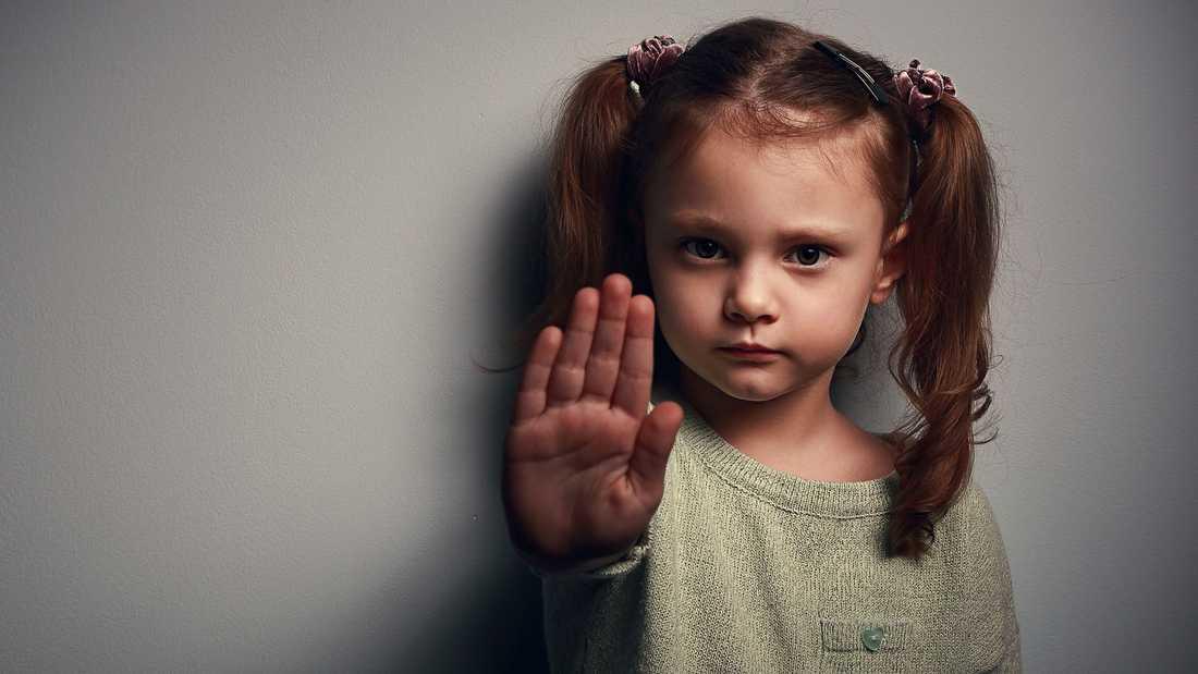 """Boken """"Stopp min kropp"""" lär ut hur man pratar med sin barn om kroppen."""