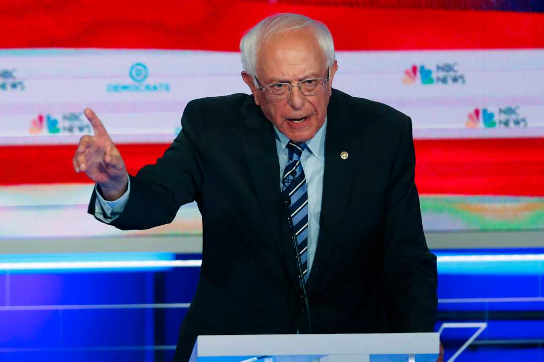 Demokraten Bernie Sanders.