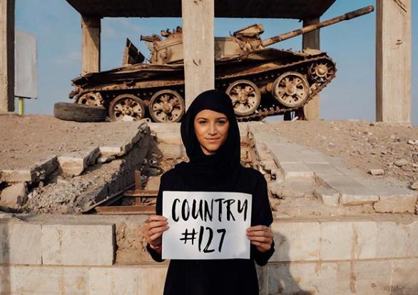 Lexie Alford är den yngsta i världen som har besökt alla 196 länder.