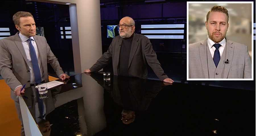 Jerzy Sarnecki och Mattias Karlsson debatterade i SVT Agenda.