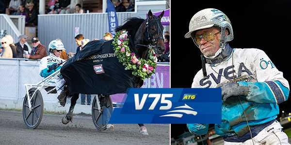 Perfect Spirit och Örjan Kihlström startar från spår ett på lördag.