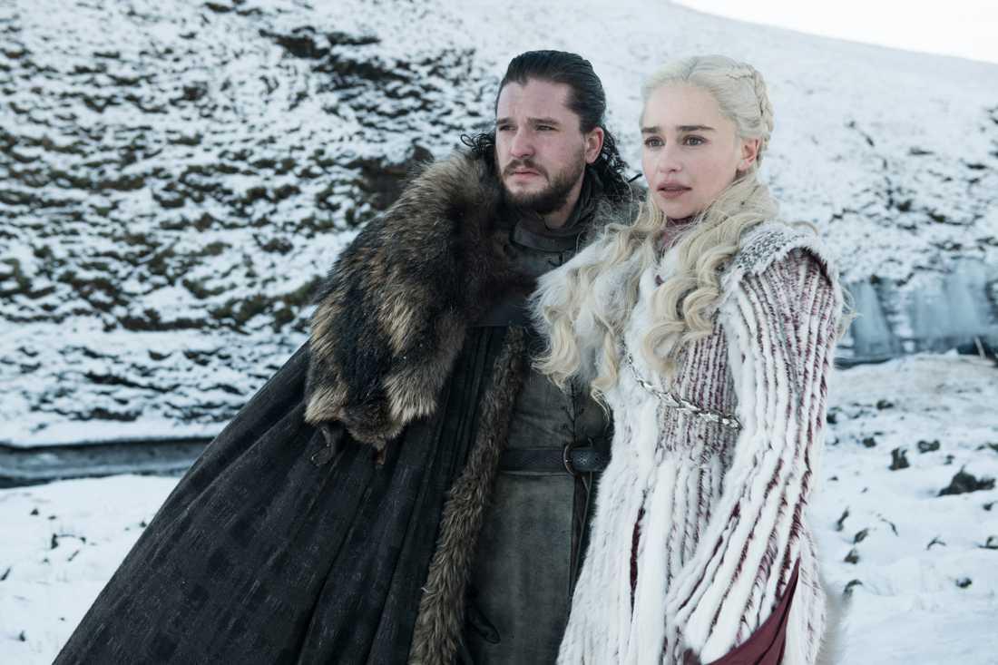 Jon Snow och Daenerys Targaryen