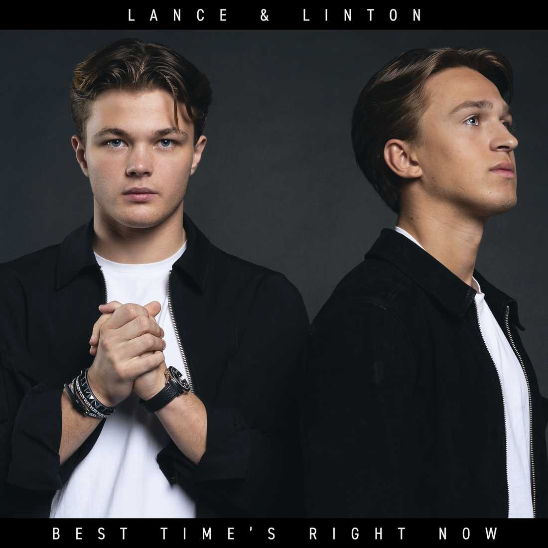 "Lance & Lintons debutsingel ""Best time's right now"" släpps 21 juni."