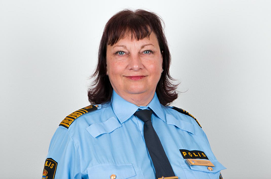 Region Syds regionpolischef Annika Stenberg