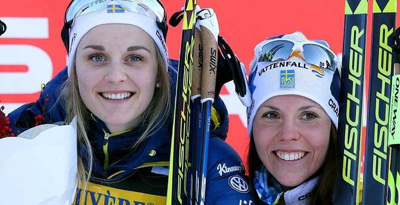 Stina Nilsson och Charlotte Kalla hoppas på medaljer i skid-VM 2017