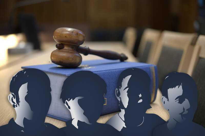 Den 57-årige mannen är åtalad för sexbrott mot fyra unga hbtq-migranter.