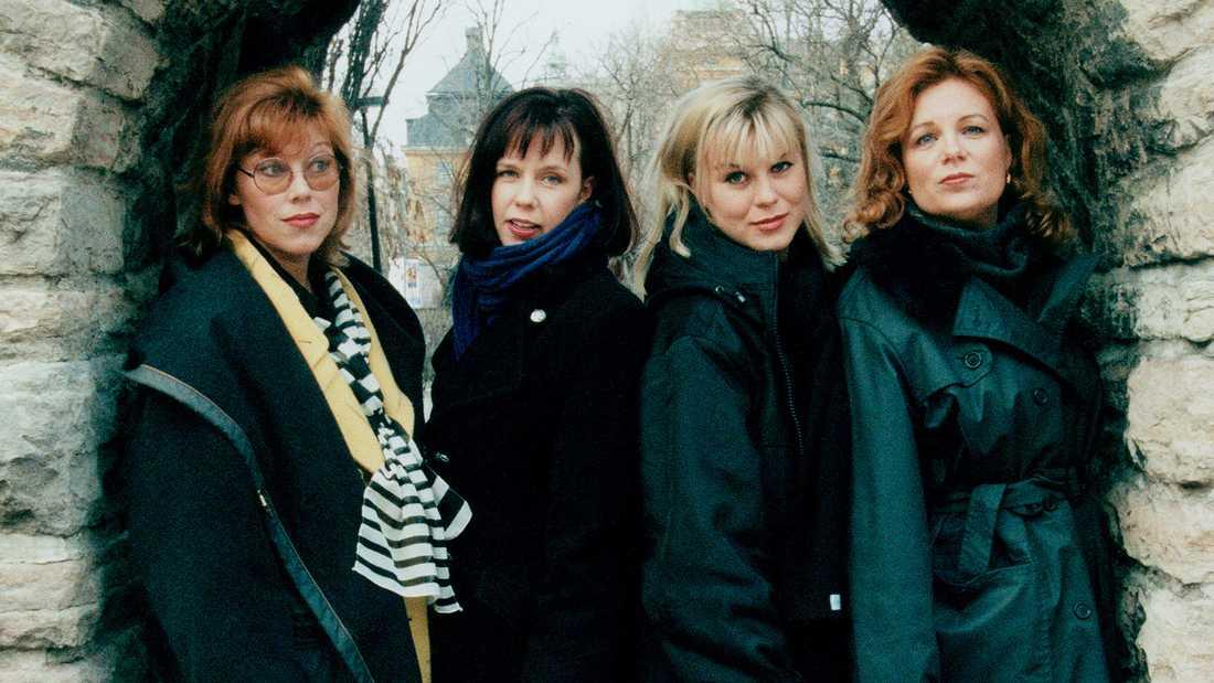 Ainbusk Singers: Marie Nilsson, Birgitta Jakobsson, Josefin Nilsson och Annelie Roswall.