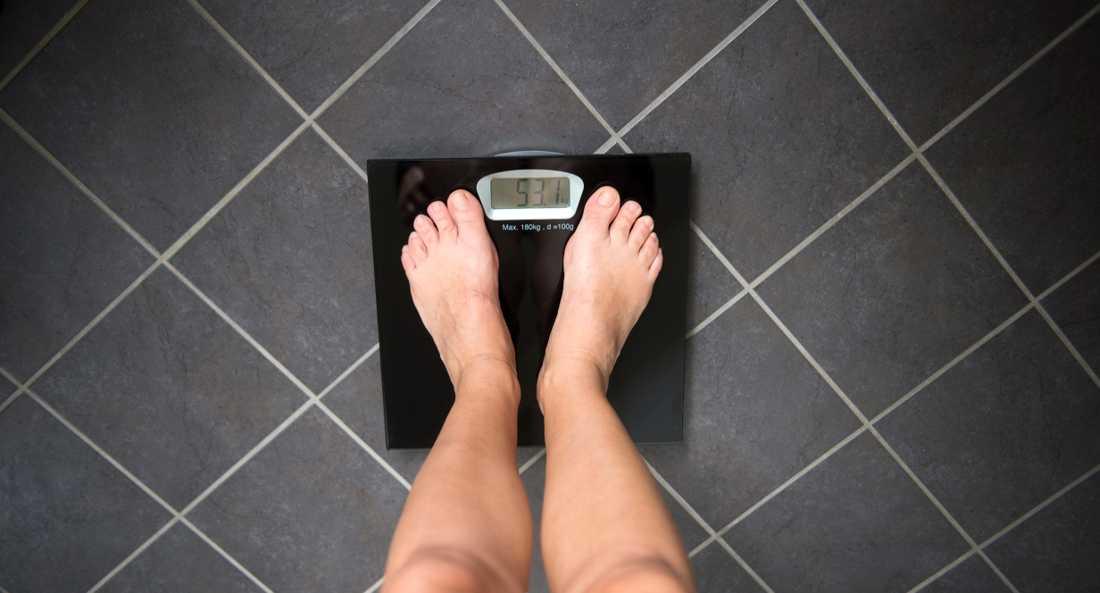 Syftet med studien är att hjälpa personer som har problem med sin vikthållning.